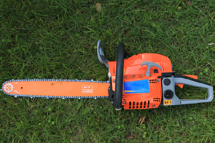 Radiating Faster Gas Chainsaw Home Depot With Double Vent Muffler 7000rpm