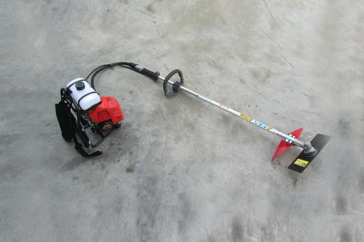 Upper Tank 43cc Grass Trimmer And Brush Cutter, Low Emission Brush Cutter Machine
